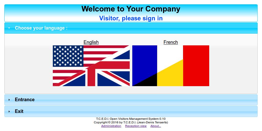 T C E D I  Open Visitors Management System - T C E D I